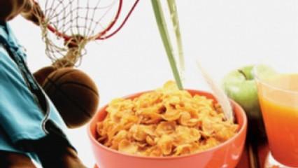 La mala alimentación y el deporte