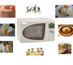 Comidas saludables utilizando microondas