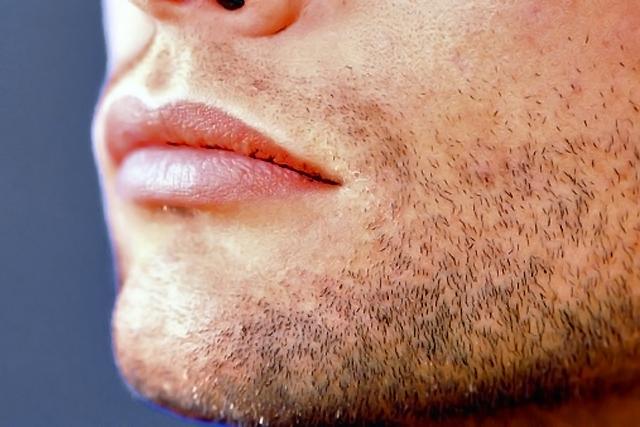 barba de tres dias