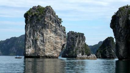 Bahía de Halong, una de las Nuevas Siete Maravillas Naturales del Mundo