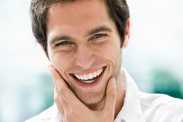 modelo sonriendo