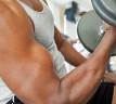 deportista levantando pesas