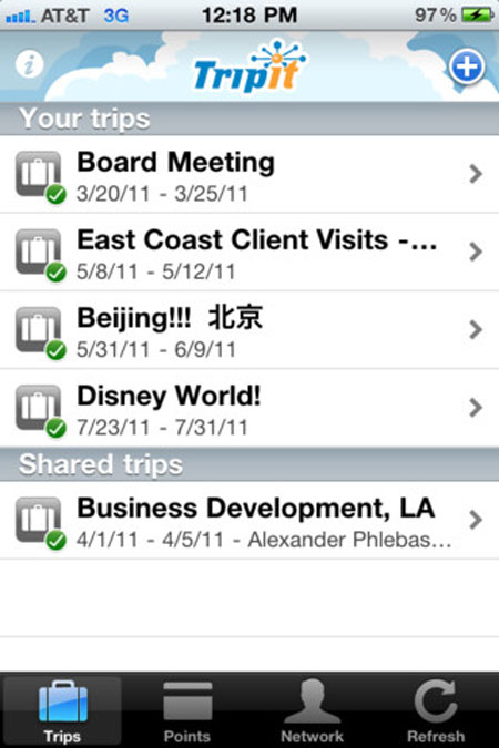 Aplicaciones para viajes en iOS