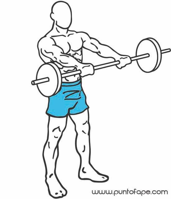 Hombros más fuertes: elevaciones frontales