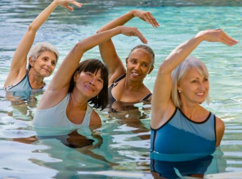 Ejercicios en el agua: Aquafitness