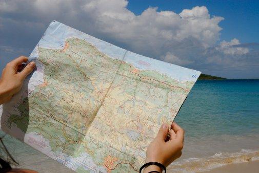 Consejos con el mapa de montaña