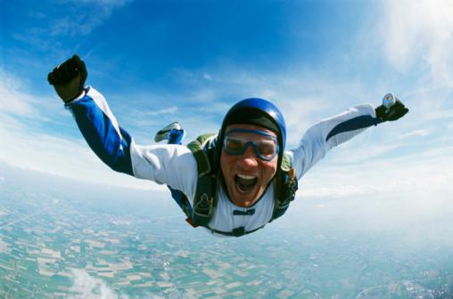 La adrenalina es uno de los beneficios de los deportes extremos