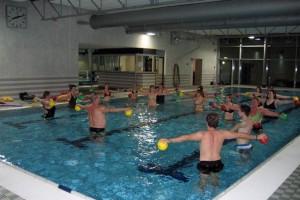 Practicar Aquafitness durante el verano