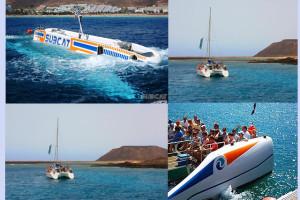 Viaje en Submarino y Crucero a la Isla de Los Lobos en Fuerteventura