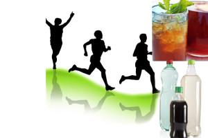 Bebidas con carbohidratos, útiles para el rendimiento deportivo