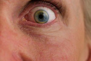 Un ojo que inspira miedo