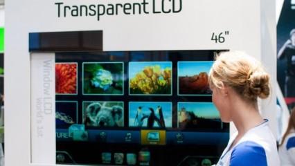 Nuevo televisor transparente y ecológico