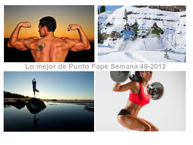 Lo mejor de Punto Fape Semana 48-2012