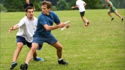 Frisbee, ejercicio saludable