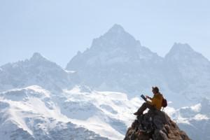 Ir solo a la montaña