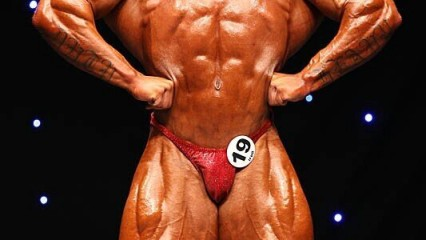 Raul Carrasco presente en el Mr Olympia 2013