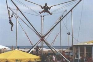 Bungee trampolin