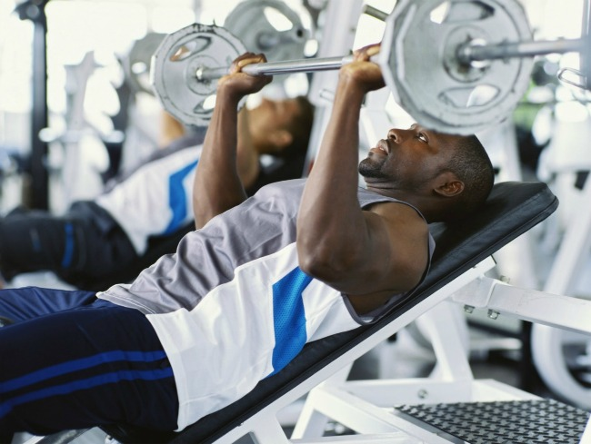Descanso de los grupos musculares