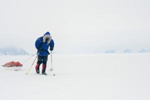 Ben Ssaunder conquista el Polo Sur