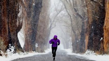 Practicar running en invierno