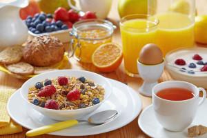 Diez normas de un desayuno saludable