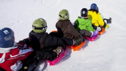 Trineo, un deporte divertido para todas las edades
