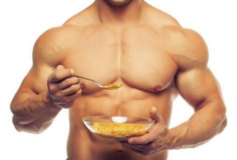 Aumentar la masa muscular consumiendo avena