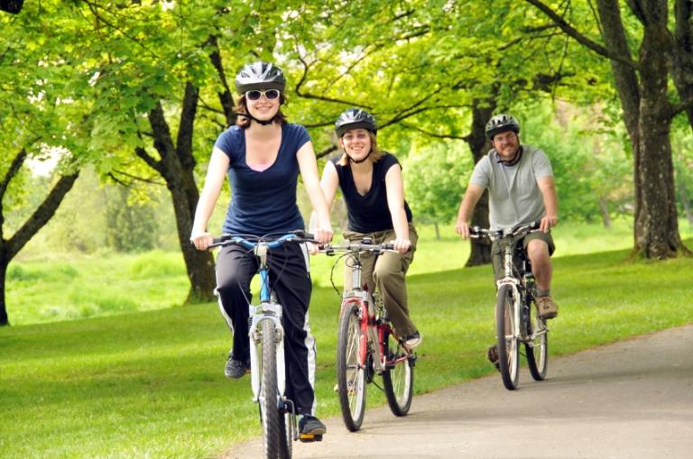 Qué comer al andar en bicicleta
