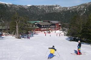 esqui sobre nieve en Chile