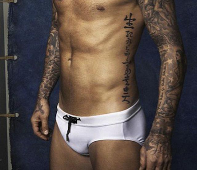 David Beckham lanza sus primeros trajes de baño