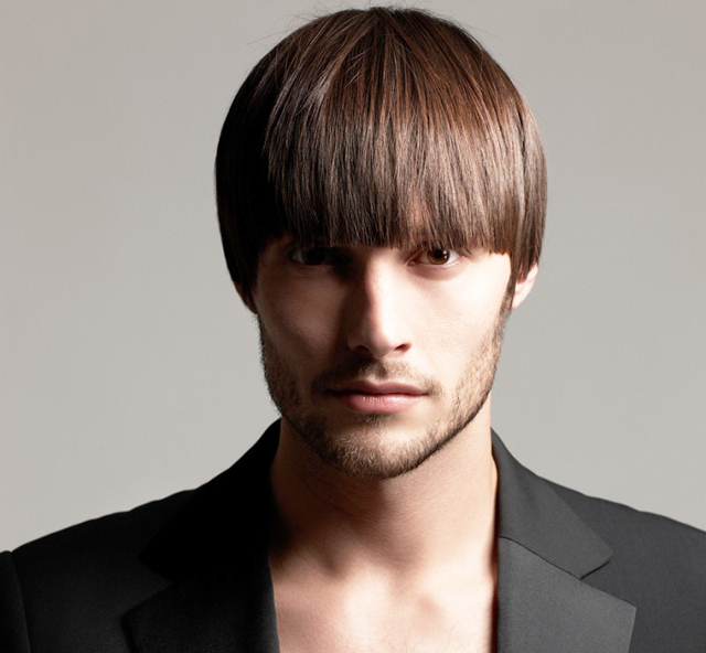 El estilo tazón para el pelo