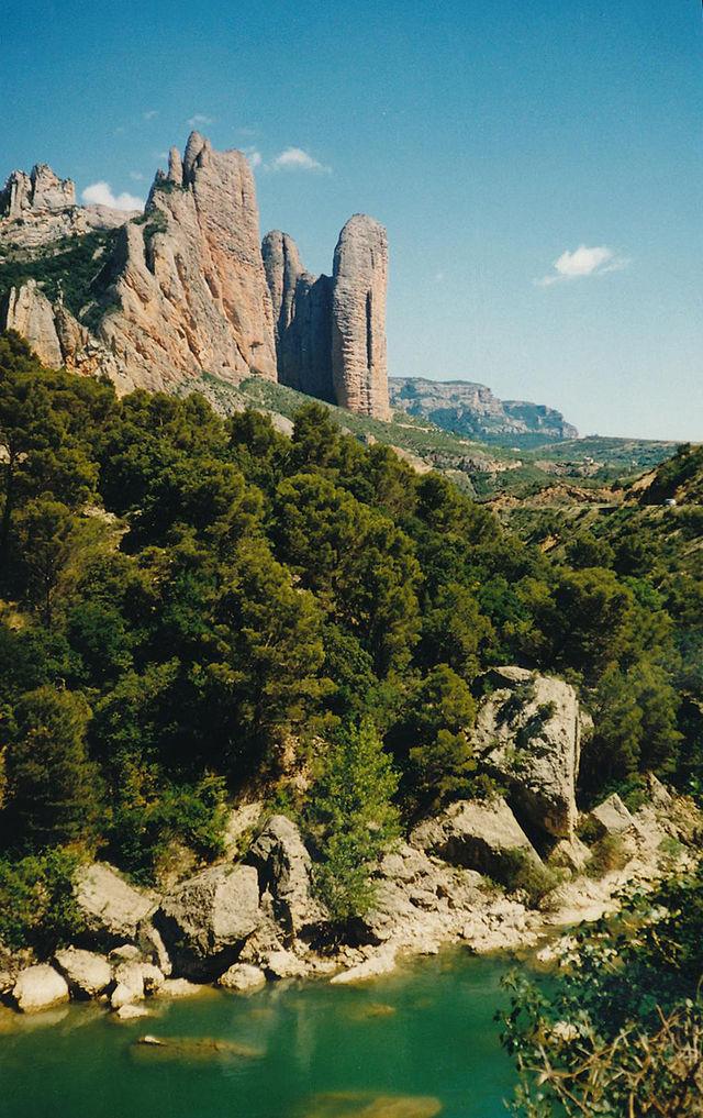 Riglos, escalada y deportes de montaña