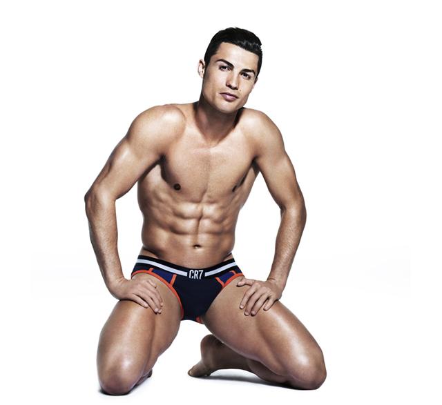 Ronaldo en Ropa interior
