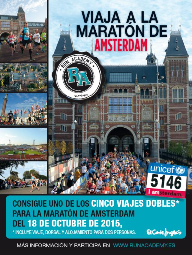 Runner, viaja a la Maratón de Ámsterdam 2015 gratis