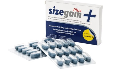 SizeGainPlus pastillas