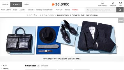 Zalando, moda y complementos en la mayor tienda online