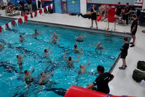 Aquafitness entrenamiento bajo impacto