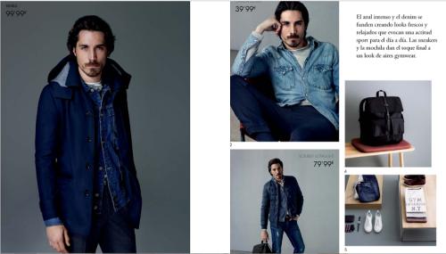 Catálogo de moda masculina Cortefiel otoño invierno 2015-2016