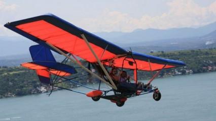 Deportes extremos, volar en un ultraliviano