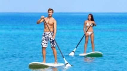 practica de paddlesurf