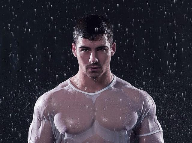 Hombre atlético