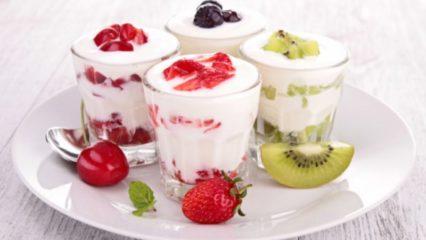 Dieta del yogur y frutas para adelgazar rápido