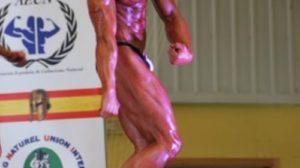 Daniel Peralta, 16 años Campeón de Europa sub-21 de culturismo