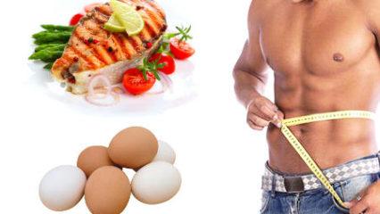 Dieta para adelgazar especial para hombres