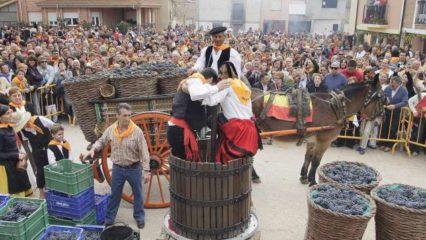 Otoño, época de Fiestas de la Vendimia en España