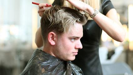 Secretos sobre la coloración de cabello masculina