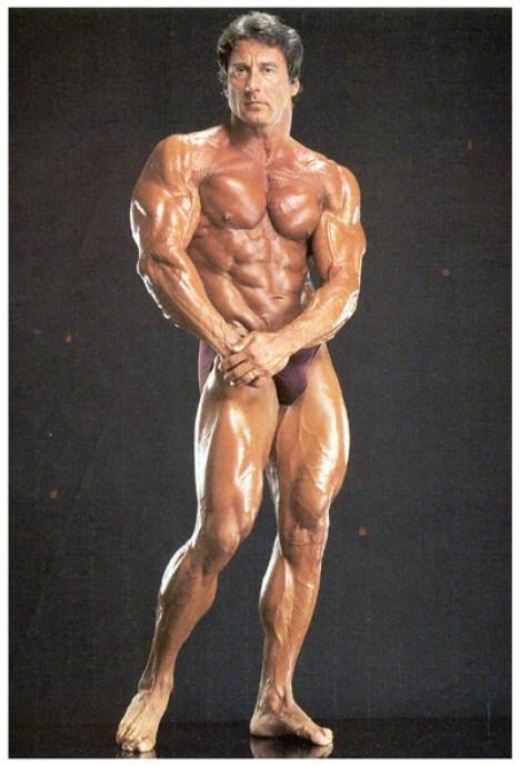 Campeones Culturistas, Frank Zane